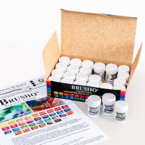Brusho Inks - Set of 24