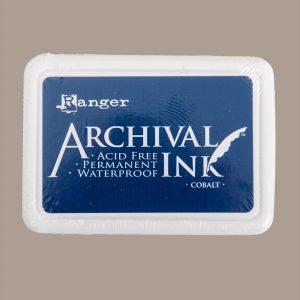 Ranger Archival Ink Pad - Cobolt