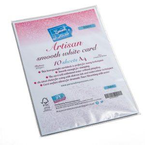 Artisan White Card (10 Sheets)