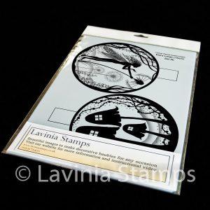 15cm Printed Bauble Inserts. Set 3b