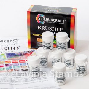 Brusho Inks. Set of 8