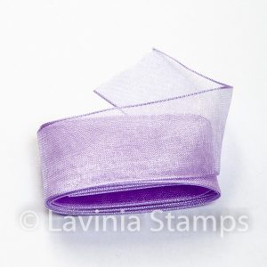 Lilac Organza Ribbon