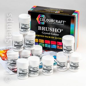 Brusho Inks- set of 12