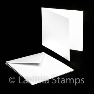 "7x7"" Blank Cards with envelopes (25)"