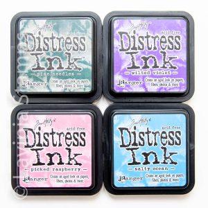 Tim Holtz® Four Distress Ink Pads - Set 3