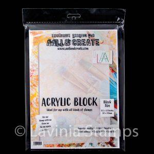 Acrylic Block - Extra Large 317x220mm