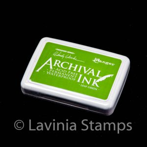 Ranger Archival Ink Pad – Leaf Green