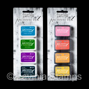 Archival Mini Ink Pads – Multipack (4)