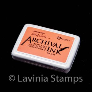 Ranger Archival Ink Pad – Tea Rose