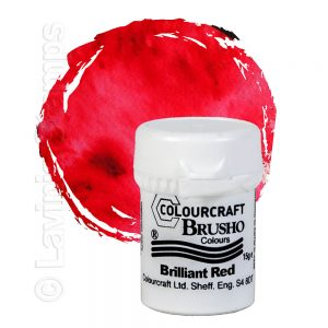 Brusho Inks - Brilliant Red