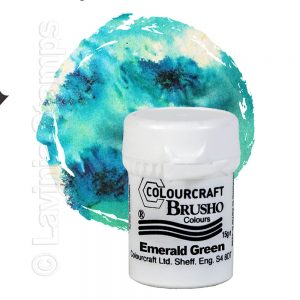 Brusho Inks - Emerald Green
