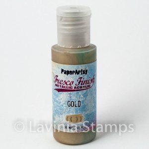 Gold Chalk Acrylic