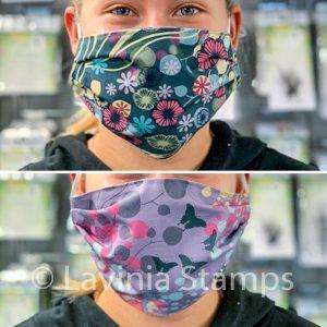 Lavinia Reversible Face Masks - Set of 3 (6 different designs)