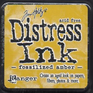 Tim Holtz® Distress Ink Pad - Fossilised Amber