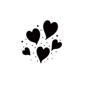 Group of Hearts (mini)