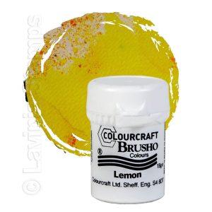 Brusho Inks - Lemon