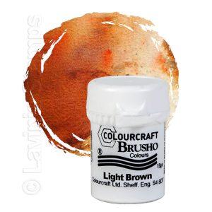 Brusho Inks - Light Brown