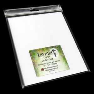 "Multifarious Card - 7x7"" White"