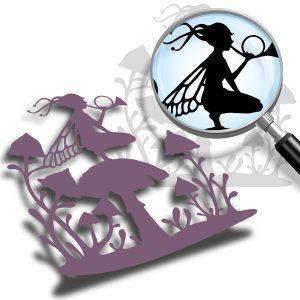 Mushroom Fairy (cutting file)