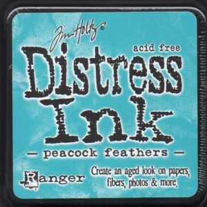 Tim Holtz® Distress Ink Pad - Peacock Feather