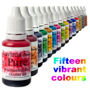 Pure - Lavinia Alcohol Inks - set of 15