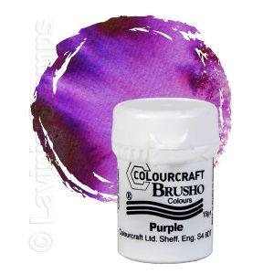 Brusho Inks - Purple