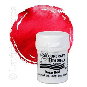 Brusho Inks - Rose Red
