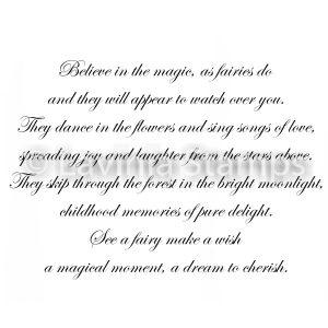 See a Fairy Make A Wish