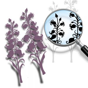 Silhouette Bluebells (cutting file)