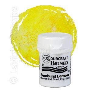 Brusho Inks - Sunburst Lemon