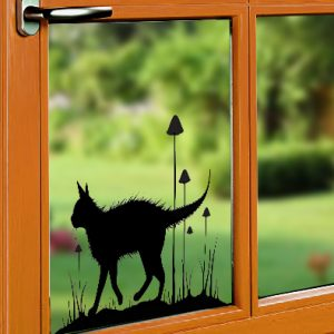 Window Cling - Garden Stroll