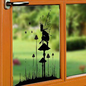 Window Cling - Fairy Watch