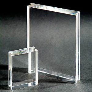 Acrylic Block - Border 150mm x 50mm