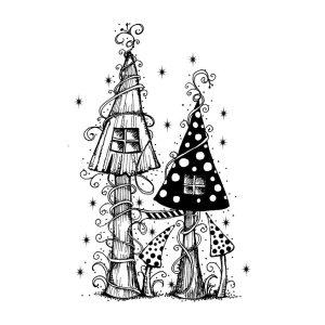 Mushroom House (digital)