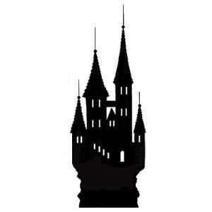 Silhouette Castle (miniature)