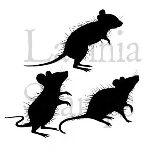 Three Woodland Mice