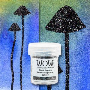 WOW! Black Twinkle Glitter