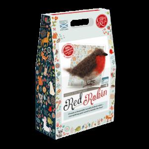 British Birds Red Robin Needle Felting Kit