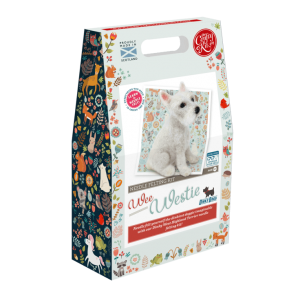 Dinky Dogs 'Wee Westie' Needle Felting Kit
