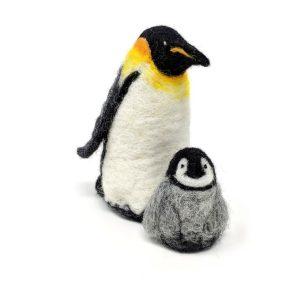 Emperor Penguins Needle Felting Kit