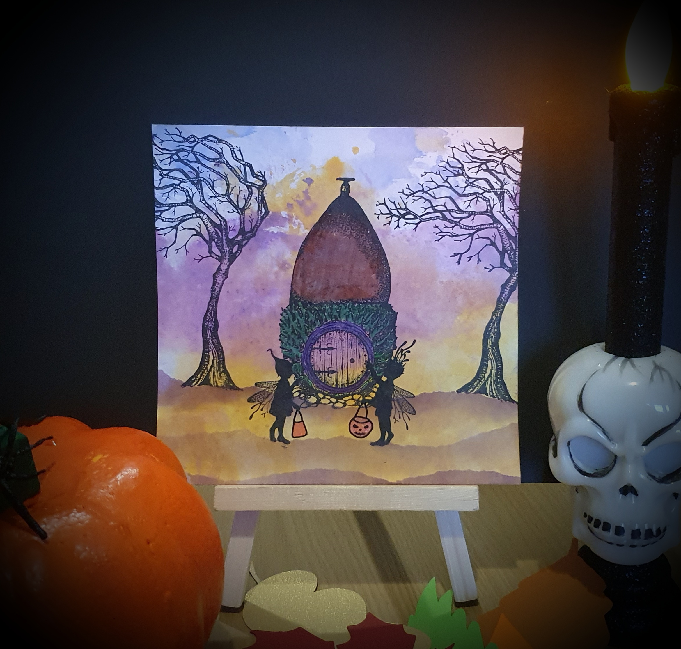 Trick or Treat by Nigel Simmons