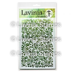 Feather Leaf - Lavinia Stencils
