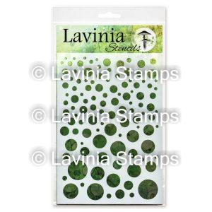White Orbs - Lavinia Stencils