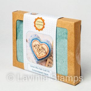 Embroidered Heart Craft Kit