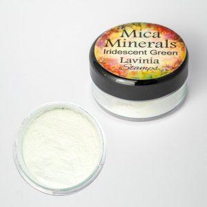 Mica Minerals - Iridescent Green