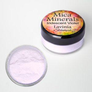 Mica Minerals - Iridescent Violet