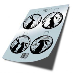 10cm Bauble Digital Insert Download Set 8