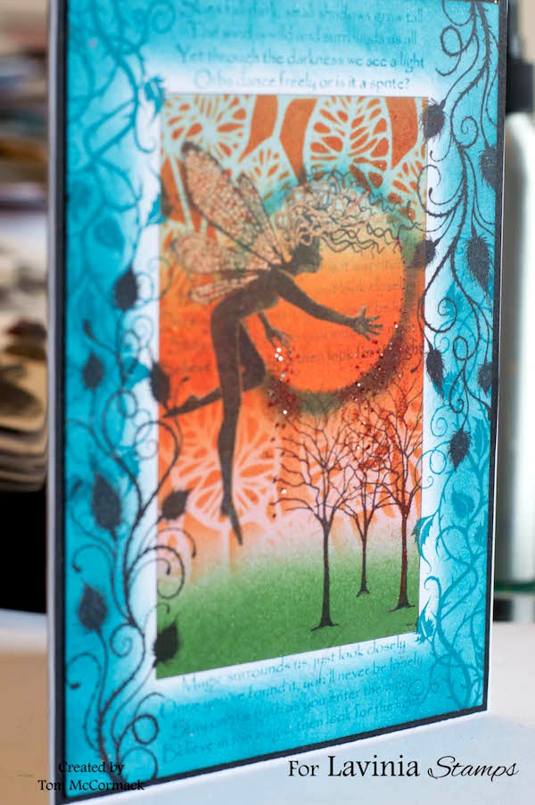 Layla's Magic Surrounds Us completed card