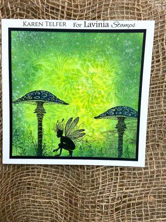 Karen Telfer - Oona toadstool grass