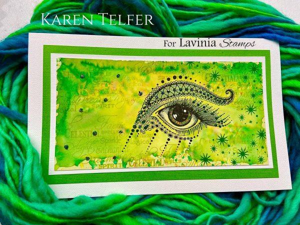 Karen Telfer - Simmi in Green